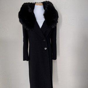 Movie Star 40's VTG Coat w/Fur Collar Adjustable